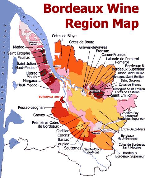 ボルドー地図